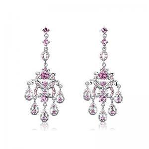 Cercei Borealy Diamonds Chandelier Clara Pink1