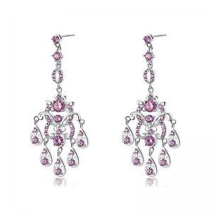 Cercei Borealy Diamonds Chandelier Clara Pink0