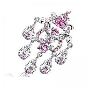 Cercei Borealy Diamonds Chandelier Clara Pink2