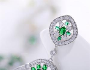 Cercei Borealy Sapphire Green Chandelier3