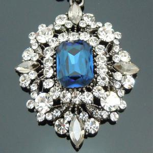 Cercei Borealy Simulated Sapphire Chandelier Great Gatsby5