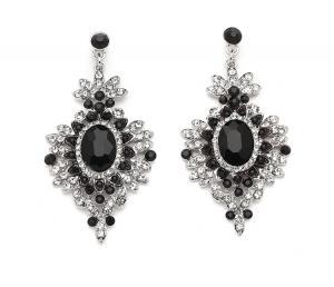 Cercei Borealy Chandelier Glam Royal Black