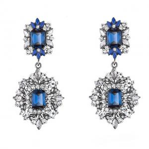 Cercei Borealy Simulated Sapphire Chandelier Great Gatsby0