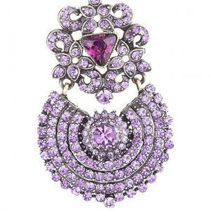 Cercei Borealy Simulated Sapphire Chandelier Purple Countess1