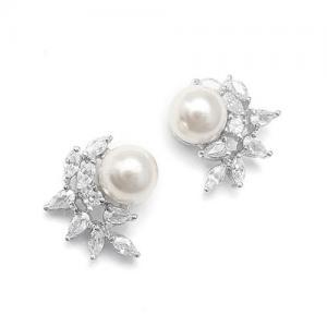 Cercei Borealy Argint 925 Pearl Crescent1