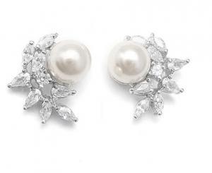 Cercei Borealy Argint 925 Pearl Crescent0