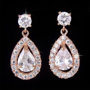 Cercei Borealy Crystal Teardrop Rose1