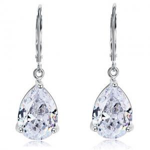 Cercei Borealy Argint 925 Simulated Diamonds Drop0