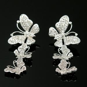 Cercei Fluturi Diamonds Borealy3