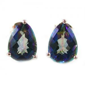 Cercei Topaz Mistic Natural Rainbow 3,8 carate0