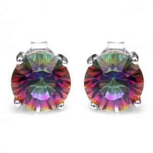 Cercei Mistic Topaz Rainbow Round 3 carate0
