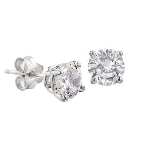 Cercei Borealy Argint Diamonds One3