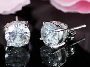 Cercei Borealy Argint Diamonds One4