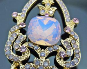 Cercei Chandelier Opal Pink by Borealy2