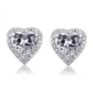 Cercei Borealy Argint 925 Diamond Passion for Love0