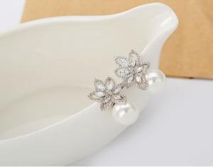 Cercei South Sea Flower Simulated Diamond [4]