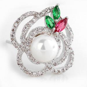 Cercei Borealy Perla Rose Flower2