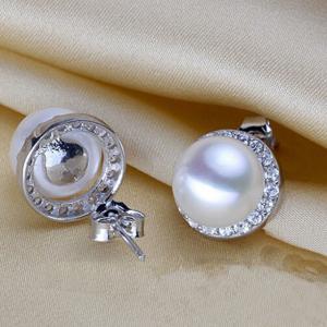 Cercei Borealy Argint 925 Perle Naturale 10 mm2