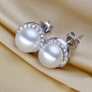 Cercei Borealy Argint 925 Perle Naturale 10 mm1