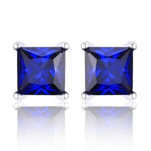 Cercei Borealy Safir 1 carat Argint 925 Princess0