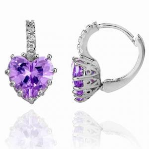 Cercei Borealy Sapphire Heart Purple1