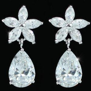 Cercei Borealy Diamonds Flower Sisi7