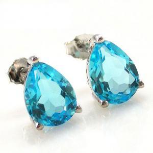 Cercei Topaz Natural Blue London 3,20 carate2
