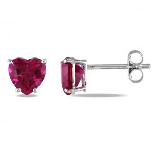 Cercei Borealy Sapphire Heart Red2