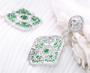Cercei Borealy Sapphire Green Chandelier2