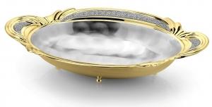 Bol SERA KING placat cu argint si aur galben by Chinelli, made in Italy