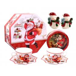 Christmas Coffee & Cookies for Santa + Decoratiuni de Craciun din Ceramica0