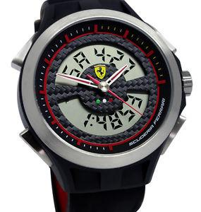 Chrono Scuderia Ferrari Lap Time Exclusive Watch1