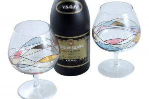 Cognac Glasses & Louis de Villerc Gift Set for Two2