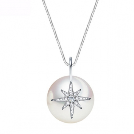 Colier Perle Star Shell0