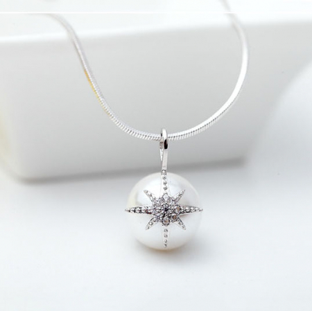 Colier Perle Star Shell3