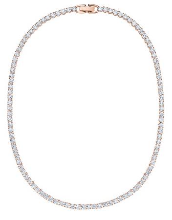Colier Borealy Small Diamonds Tennis Gold0