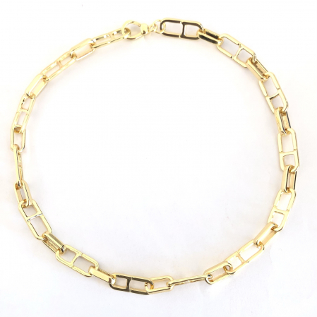 Colier Chain Gold0