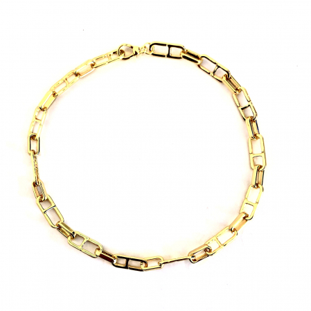 Colier Chain Gold1