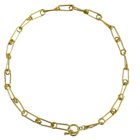 Colier Chain Gold Pin [0]