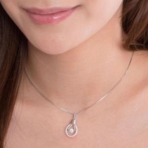 Colier Dancing Crystal Idea by Borealy Argint 9252