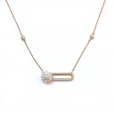 Colier Diamonds Pin Fleur [1]