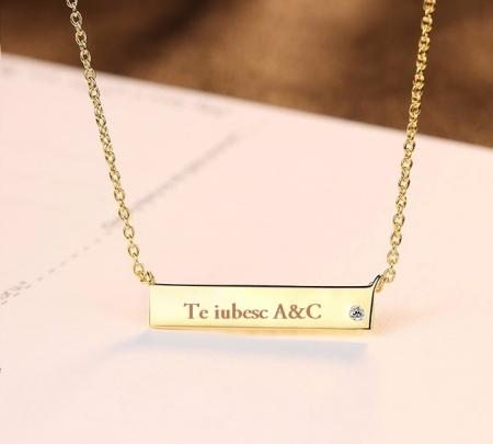 Colier Argint 925 Personalizabil Melody - Cadou Valentine's Day [0]