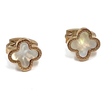 Cercei Mother of Pearl Clover1