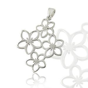Medalion Borealy Argint 925 White Flower0
