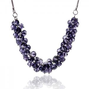 Colier Bead Purple0