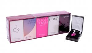 Colier Butterfly Fuchsia & Deluxe Travel Collection Calvin Klein0