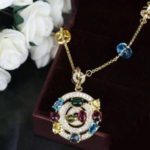 Colier Borealy Circle Colours Luxury2