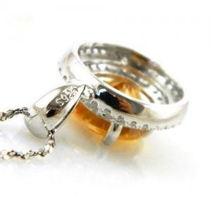 Citrine Luxury 3,15 carate - pietre preţioase naturale & Argint 9254