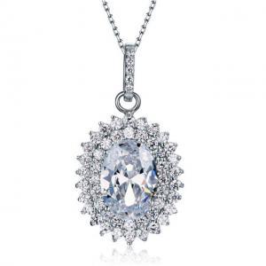 Colier Borealy Argint 925 Diamond Contesa0