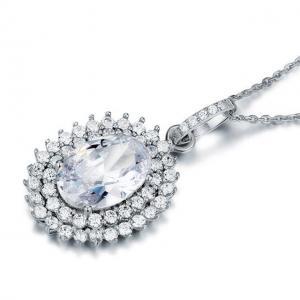 Colier Borealy Argint 925 Diamond Contesa1